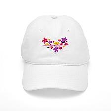 Kayak Flower Power Baseball Cap