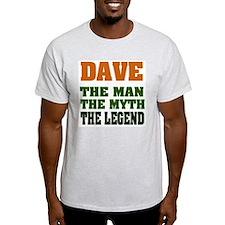 DAVE - The Legend Ash Grey T-Shirt