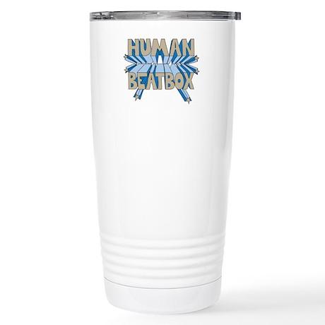 Human Beatbox Stainless Steel Travel Mug
