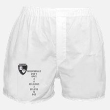 Believe N God Boxer Shorts