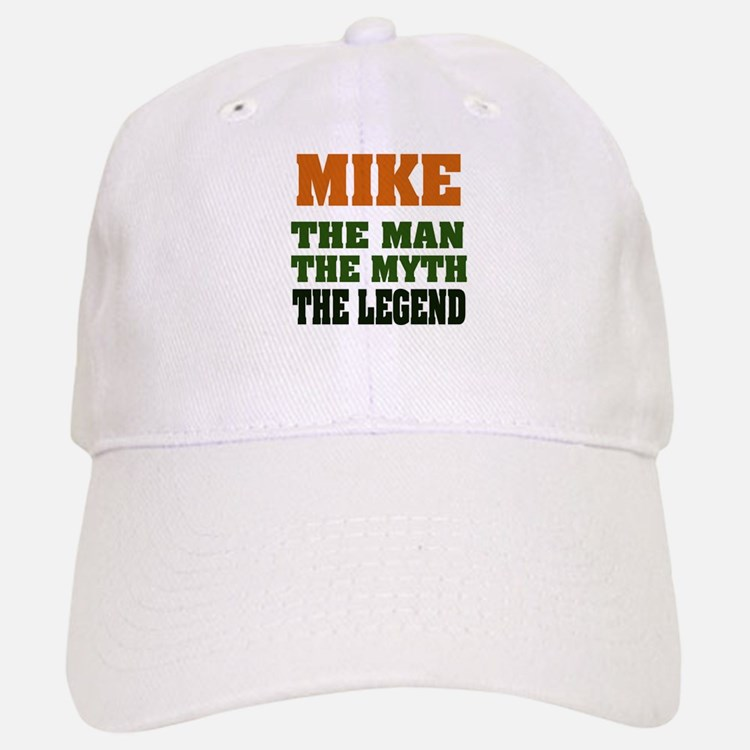 MIKE - The Lengend Baseball Baseball Cap