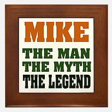 MIKE - The Lengend Framed Tile