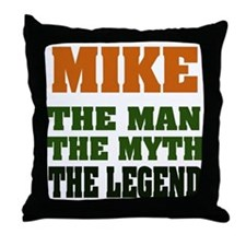 MIKE - The Lengend Throw Pillow