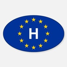 EU Hungary Decal