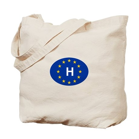 EU Hungary Tote Bag