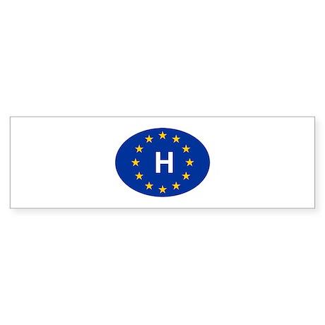 EU Hungary Sticker (Bumper)
