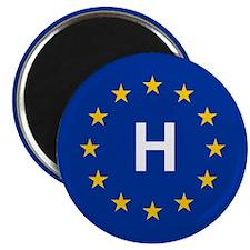 "EU Hungary 2.25"" Magnet (10 pack)"