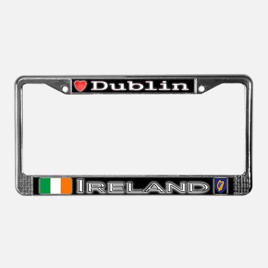 Dublin, IRELAND - License Plate Frame
