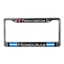 Tegucigalpa, HONDURAS - License Plate Frame