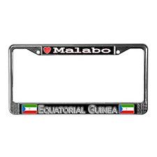Malabo, EQUATORIAL GUINEA - License Plate Frame