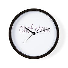 Chef Mom Wall Clock