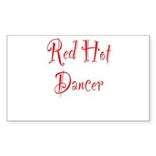 Red Hot Dancer Decal