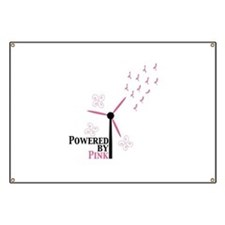 Powered by Pink (Turbine) Banner