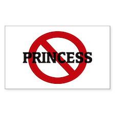 Anti-Princess Rectangle Decal