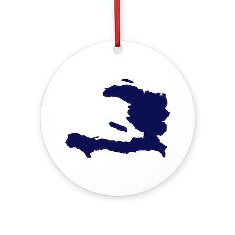 Haiti Ornament (Round)