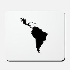 Latin South America Mousepad