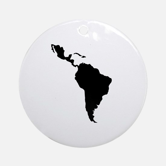 Latin South America Ornament (Round)