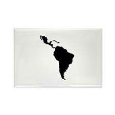 Latin South America Rectangle Magnet (100 pack)