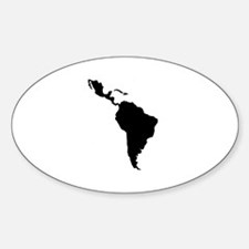 Latin South America Decal
