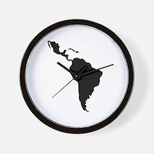 Latin South America Wall Clock