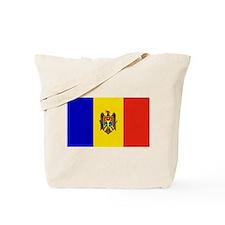 Moldovan Flag Tote Bag