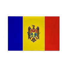 Moldovan Flag Rectangle Magnet