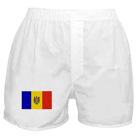 Moldovan Flag Boxer Shorts