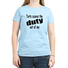 Torts Scares the Duty Out of T-Shirt