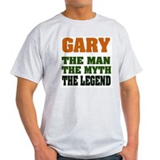 GARY - the Legend Ash Grey T-Shirt