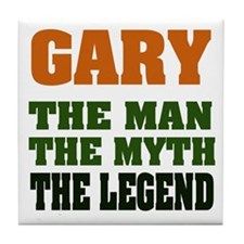 GARY - the Legend Tile Coaster