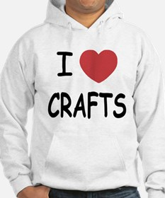 I heart crafts Hoodie