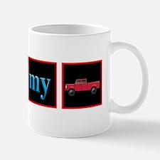 I Love My Truck Small Small Mug