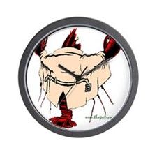 The red lobster Wall Clock