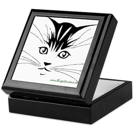 Pretty kitty face Keepsake Box