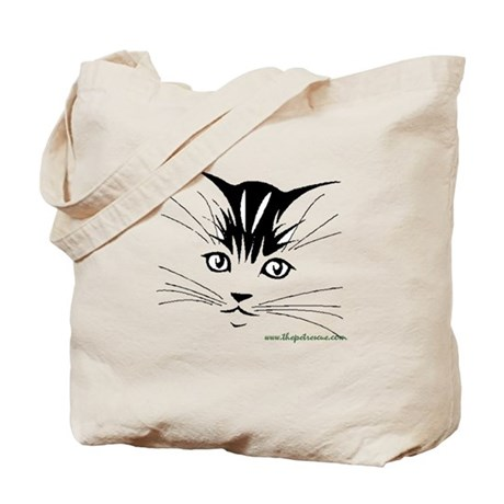 Pretty kitty face Tote Bag