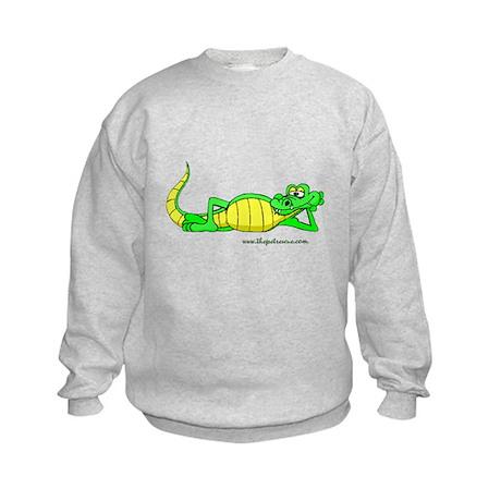 The cool gator Kids Sweatshirt