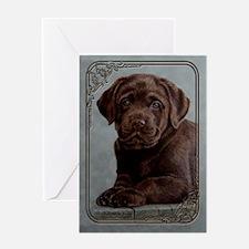 Chocolate Baby Greeting Card