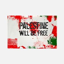 Funny Arabic palestine Rectangle Magnet