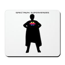 Spectrum Superhero Mousepad