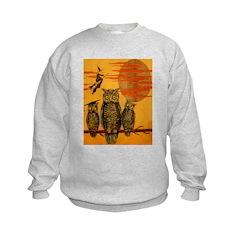 3 Owls Kids Sweatshirt