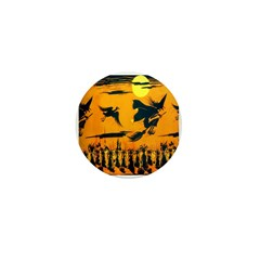Flying Witches Mini Button (10 pack)