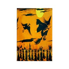 Flying Witches Rectangle Magnet (100 pack)