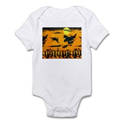 Flying Witches Infant Bodysuit
