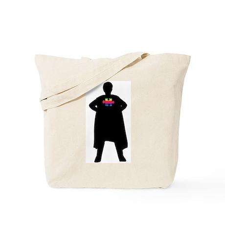 Spectrum Superheroes V2b Tote Bag