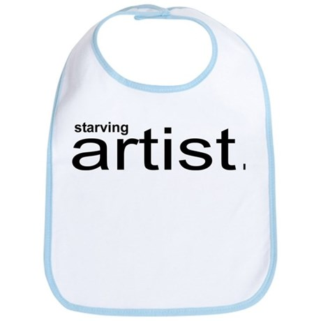 starving artist. Bib