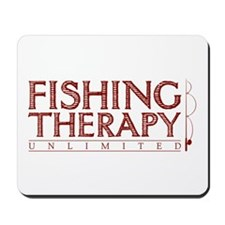 Fishing Therapy Unlimited Mousepad