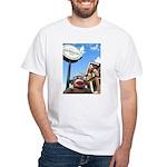 Ernie the Sock Monkey in Corktown T-Shirt