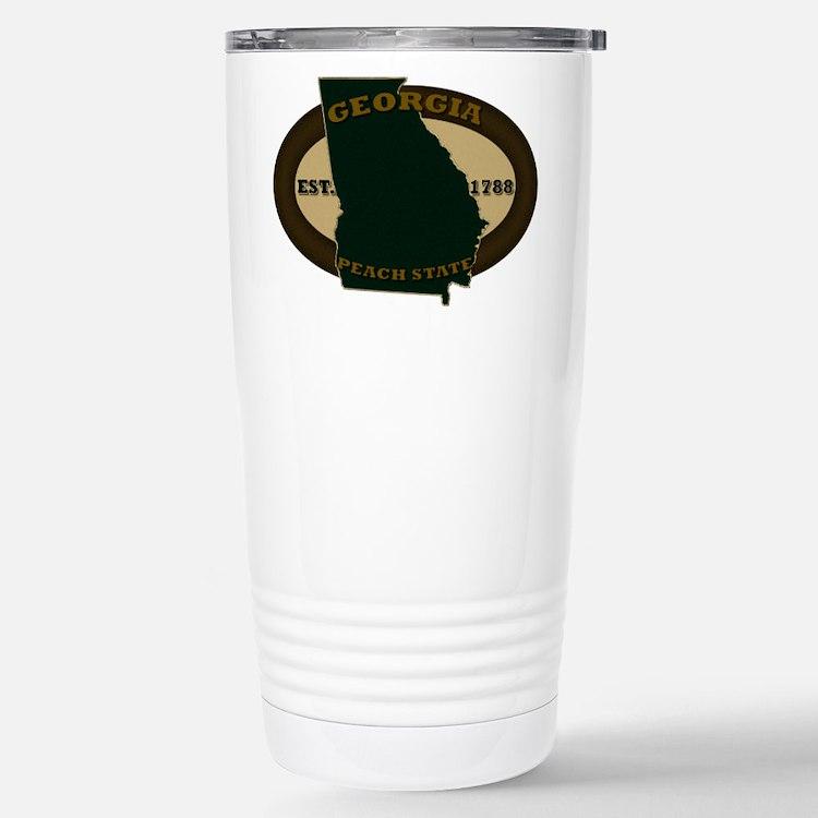 Georgia Est. 1788 Travel Mug
