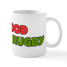Give Blood Play Rugby Fun Mug