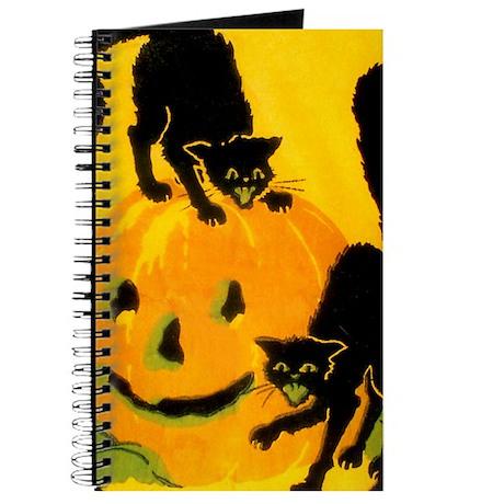 Pumpkin Cats Journal